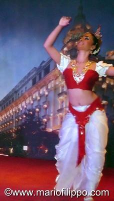 PRESENTAZIONE BALLETTO ETNICO DELLO STATO DI SRI LANKA A ROMA HOTEL EXCELSIOR