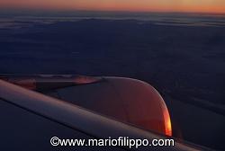 Le coste del Venezuela con un volo proveniente da Aruba