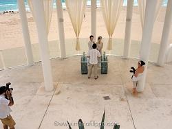 Un omaggio fotografico ai fotografi di un matrimonio coreano celebrato in Messico(Cancun)