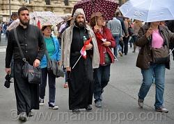 Santificazione di Papa Giovanni XXXIII e Giovanni Paolo II Roma 27 aprile 2014