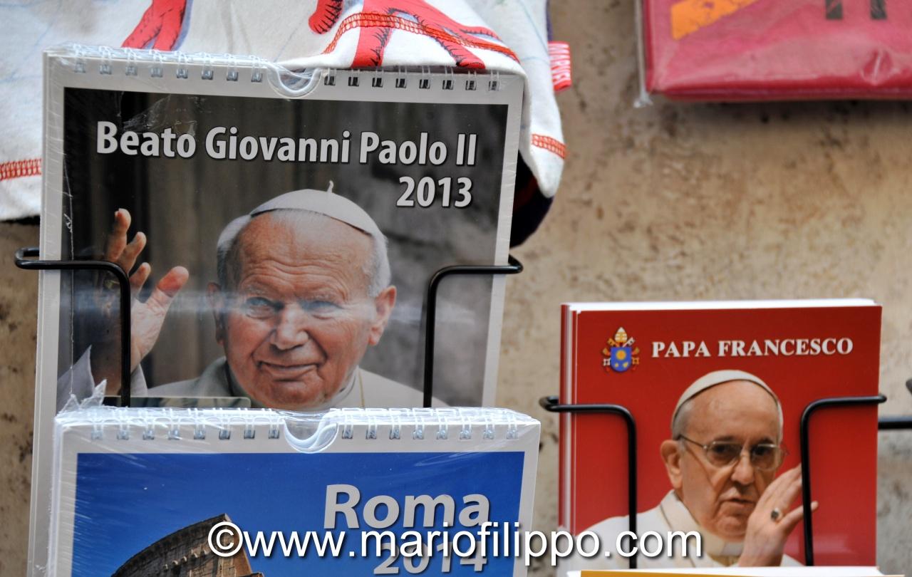 Roma 31 marzo 2013-Verso San pietro il giorno di Pasqua per la prima messa pasquale di Papa Francesco