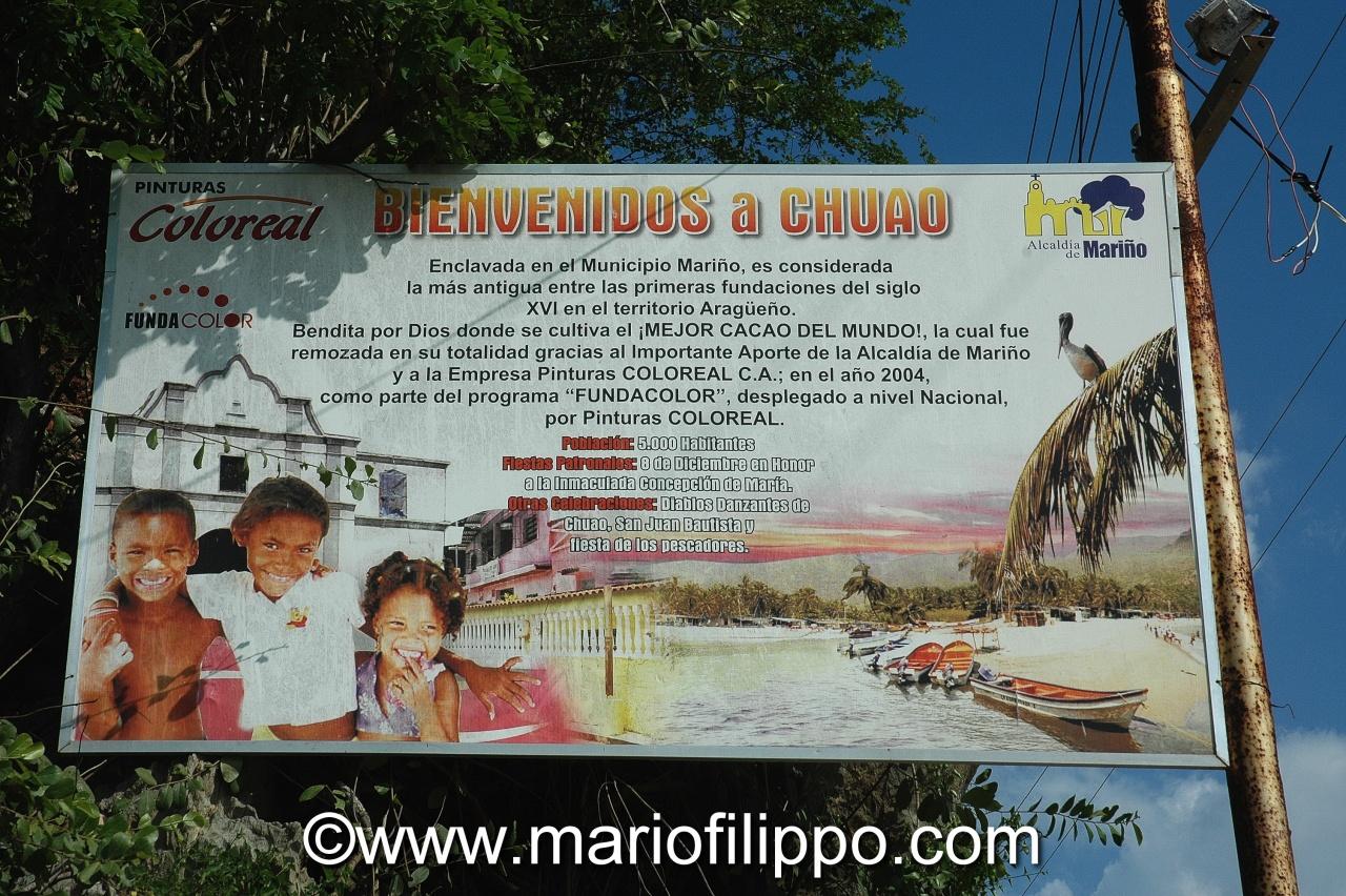 VENEZUELA (CHUAO TERRA DEL CIOCCOLATO)