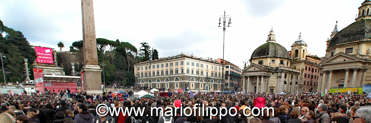 SE NON ORA QUANDO  ROMA 12 MARZO 2011