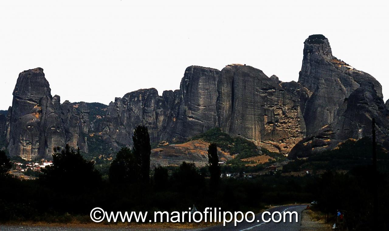 Grecia monti di Meteora