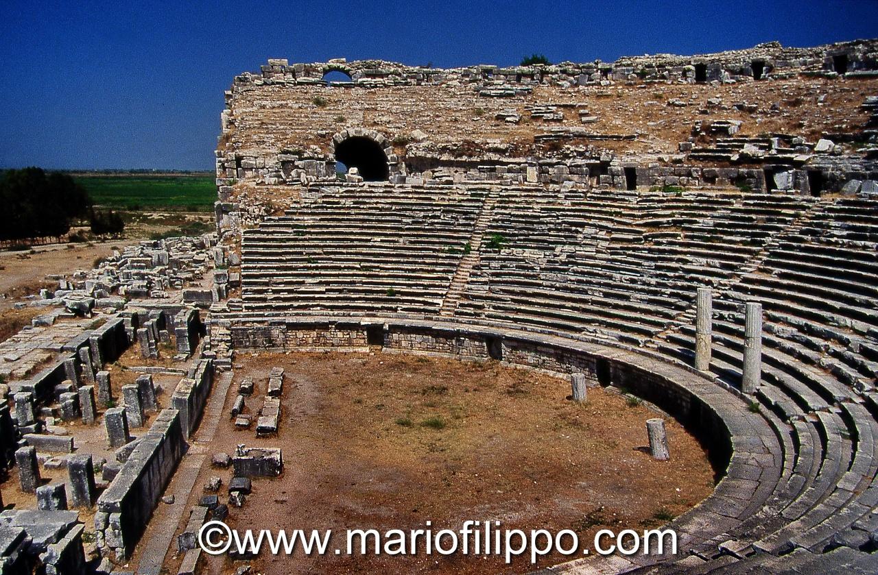 Turchia Priene anfiteatro