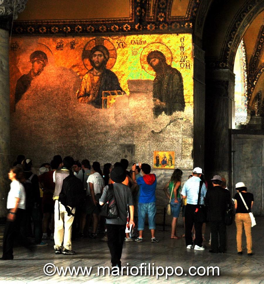 ISTANBUL MOSCHEA DI SANTA SOFIA