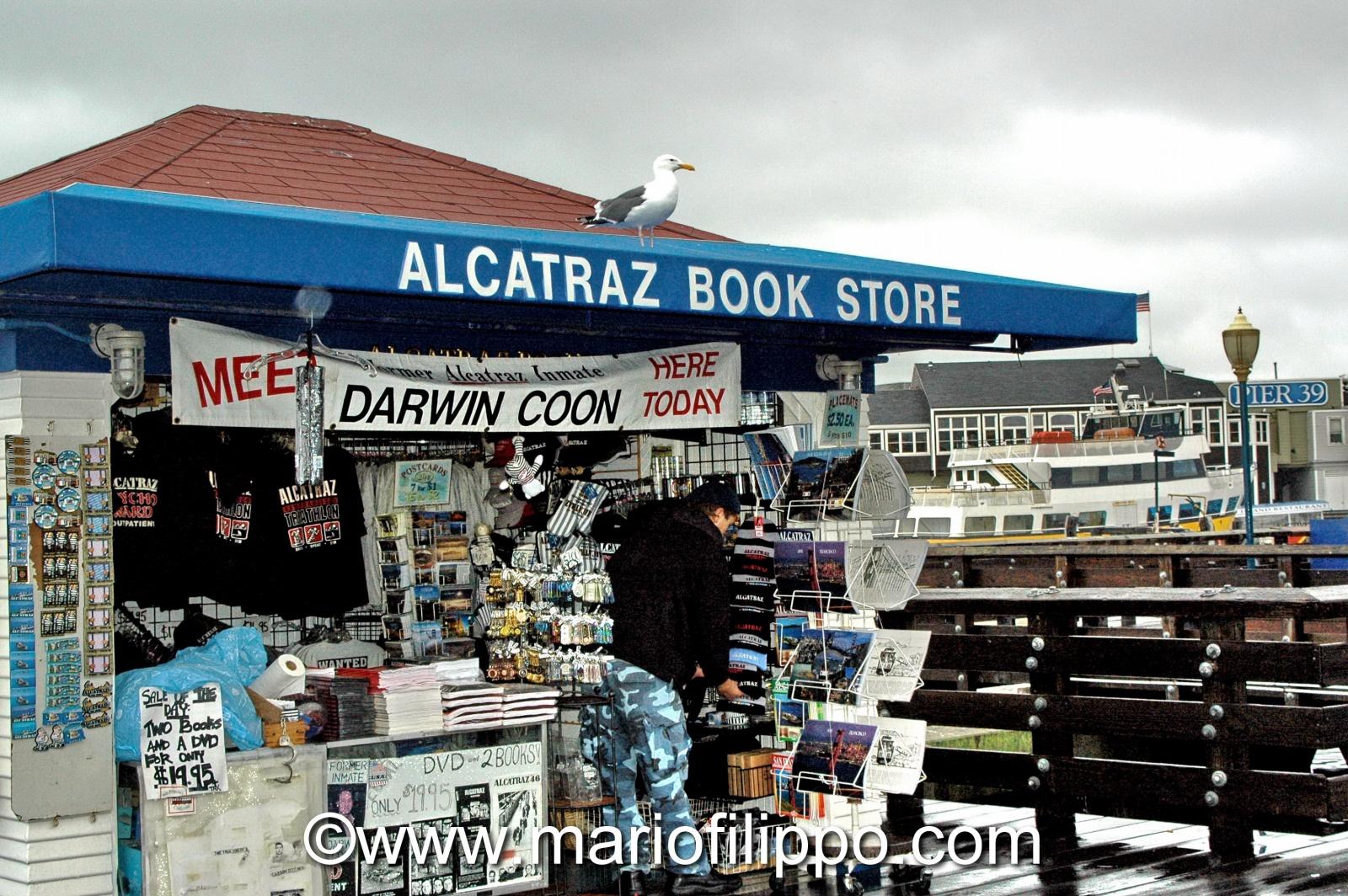 """U.S.A. CALIFORNIA """"ISOLA DI ALCATRAZ""""  BAIA DI SAN FRANCISCO"""