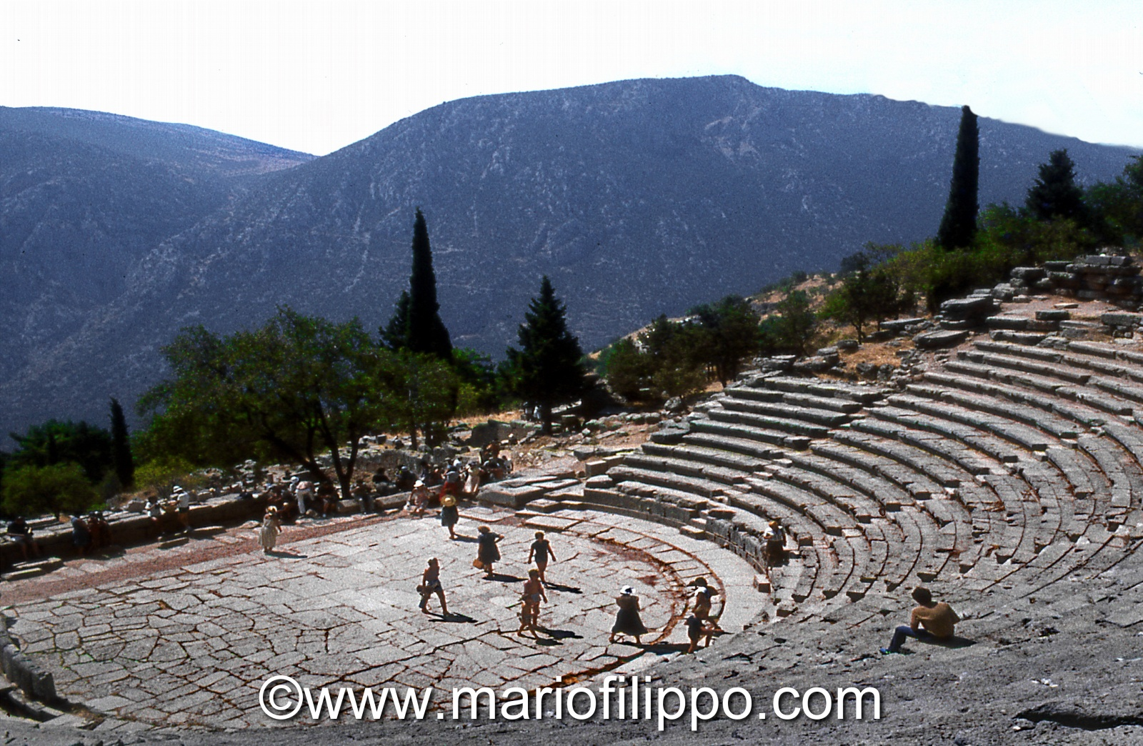 Grecia Delfi -teatro