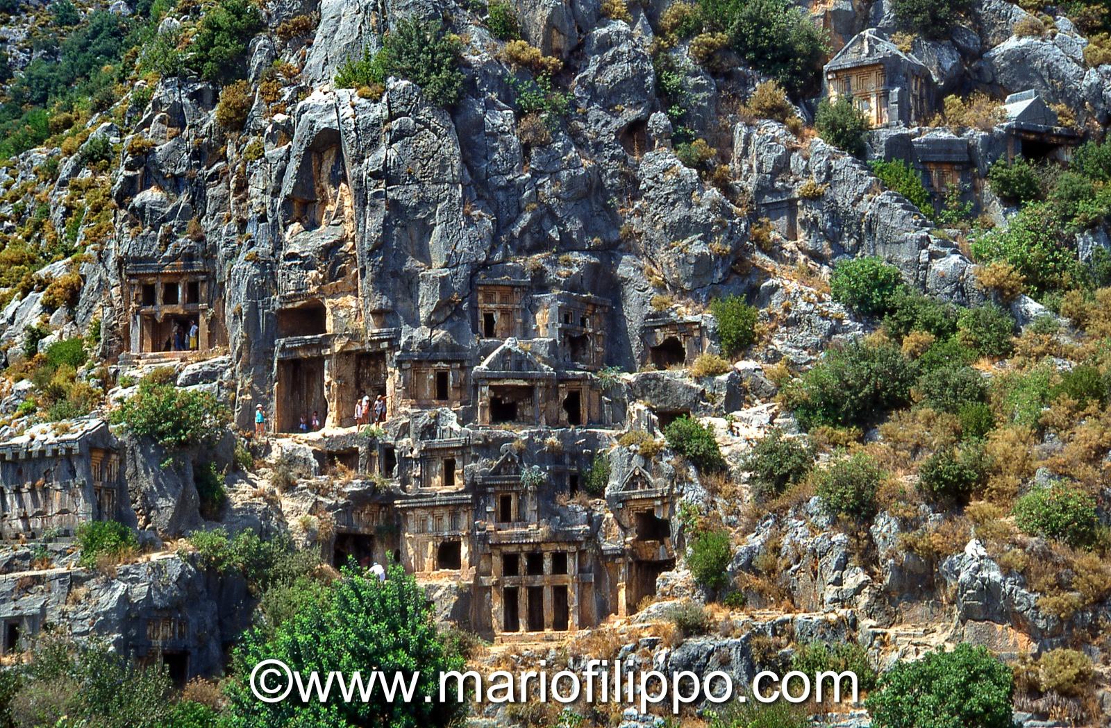 Turchia Licia Xanthos panoramica