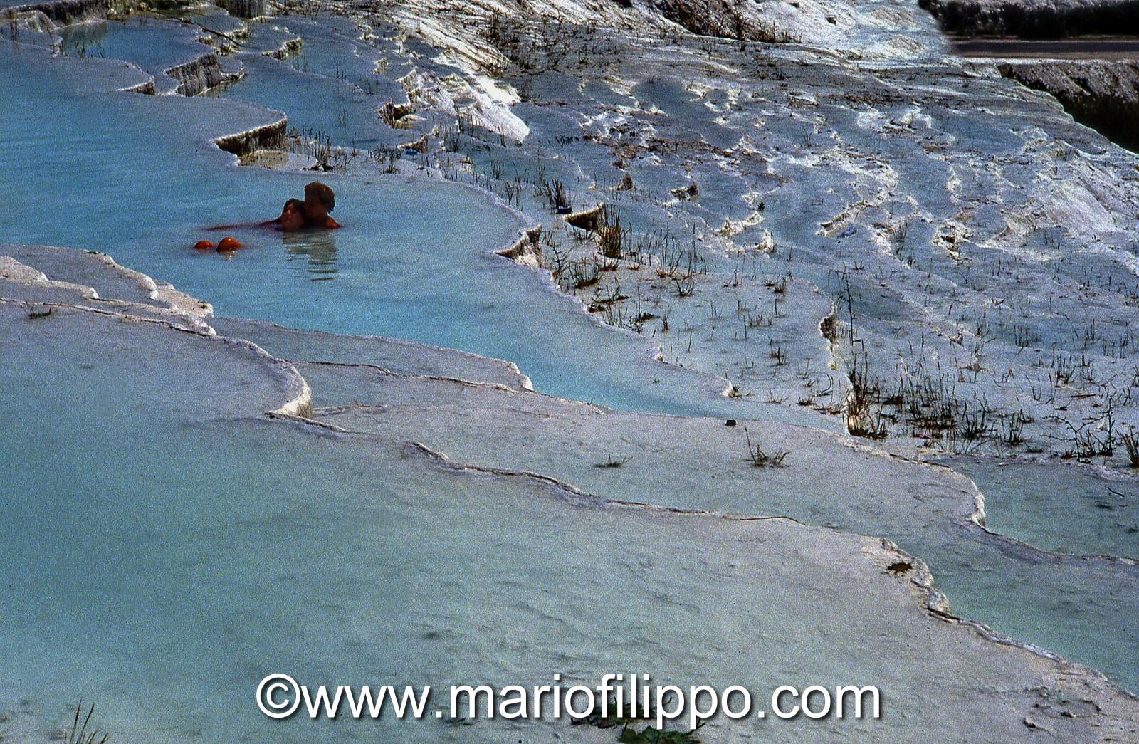 Turchia Pamukkale cascate calcaree