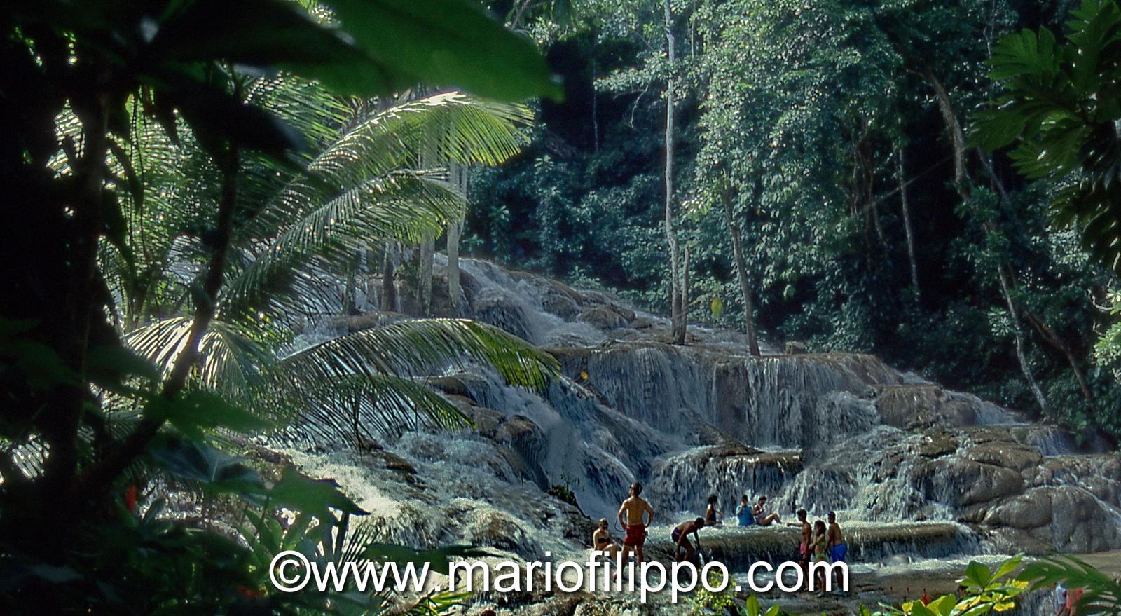 jamaica ocho rios cascate del dunn