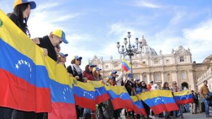 manifestazione per i diritti civili del popolo venezuelano